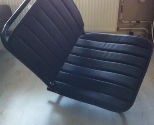 passagiersstoel Citroën HY met leer