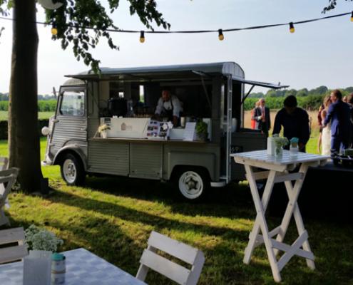 Chef Nicolas heeft ook zijn eigen food truck tegenwoordig